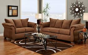 Chocolate Living Room Furniture by Roundhill Furniture