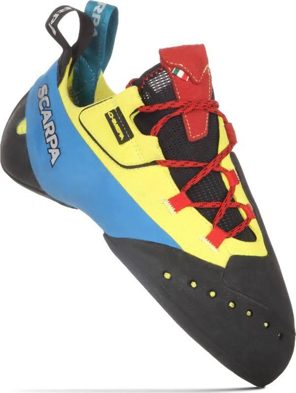 Scarpa Chimera Climbing Shoes Yellow Medium 40.5 70052/000-Yel-40.5