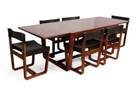 Mid Century Modern Dining Room Tables Mid Century Modern Rosewood Dining Table And Chairs By Gunther