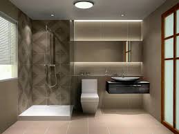 modern bathroom vanity lighting ideas dark orange futuristic