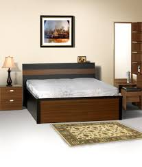 Cheap King Size Bed Sheets Online India Kosmo Sophia King Size Bed With Storage Buy Kosmo Sophia King