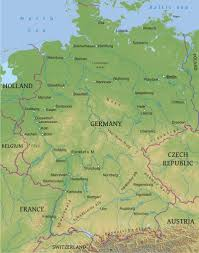 Map Germany by Maps Of Germany Bizbilla Com