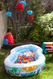 1st Birthday Decoration Ideas At Home 1st Birthday Party Activity Entertainment Ball Pit Great Idea