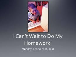 Amazon com  I Didn     t Do My Homework Because                       Wisdom House School System Do My Homework   Danny Gonzalez
