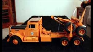 kenworth truck models 1 16 scale logging trucks models kenworth peterbilt mack youtube