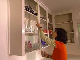 Molding On Kitchen Cabinets How To Apply Lip Molding To Cabinets How Tos Diy