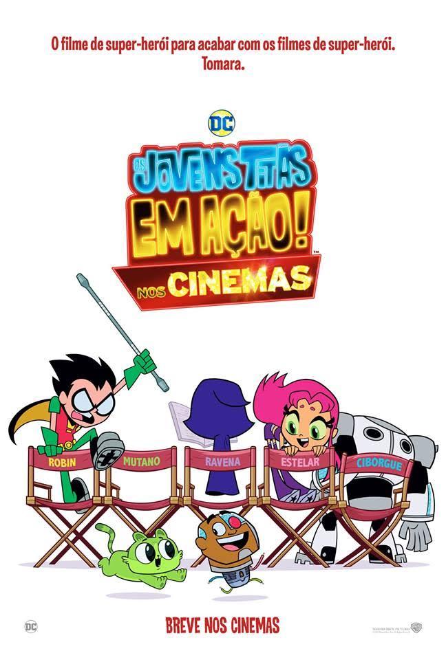 Resultado de imagem para os jovens titãs em ação! nos cinemas