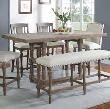 Laurel Foundry Modern Farmhouse Fortunat Counter Height Extendable - Counter height kitchen table