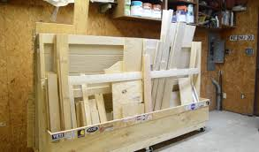 Rolling Wood Storage Rack Plans by Diy Rolling Lumber Rack Wilker Do U0027s