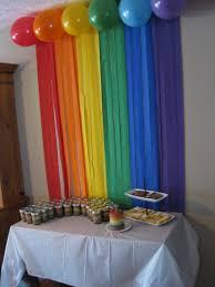 Decoration Themes 25 Best Rainbow Party Decorations Ideas On Pinterest Rainbow
