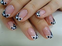 beautiful acrylic nails how you can do it at home pictures