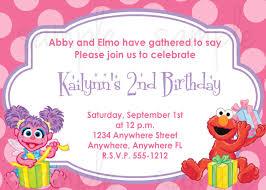 1st Year Baby Birthday Invitation Cards Abby Cadabby And Elmo Birthday Invitation By Lovelifeinvites 2nd