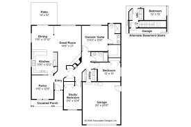 ranch house plans chapman 30 544 associated designs