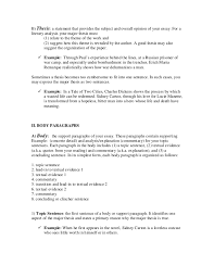 Guide To Writing Literary Analysis Essay   Literary analysis essay     ayUCar com
