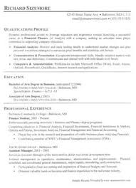 Banker Resume Example by Banking Resume Examples Are Helpful Matters To Refer As You Are