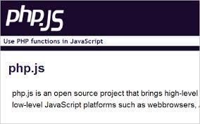 PHP.JS, les funcions PHP en JS