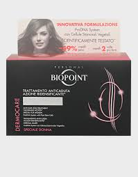 dermocare hair loss treatment for women by biopoint 12vials x