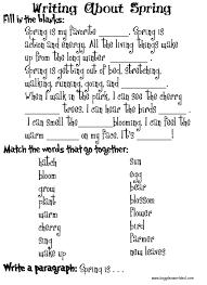 Third Grade Reading   Writing Worksheets  Creative Sentence Starters Kidzone