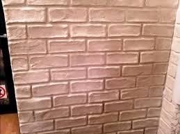 Fake Exposed Brick Wall Fake Exposed Brick Wall Cadel Michele Home Ideas Fake Brick
