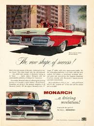 vintage ad for 1957 mercury monarch cars of 50 u0027s pinterest