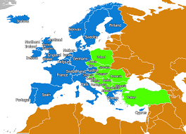 Western Europe Political Map by Map Of Eastern And Western Europe Thefreebiedepot