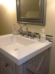 nice ideas of glass tile backsplash bathroom pictures