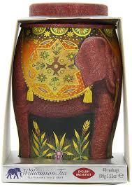 amazon com williamson english breakfast elephant tea caddy
