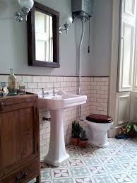 Vintage Bathroom Tile Ideas Bathroom Fabulous Vintage Bathroom Wallpaper Designs And