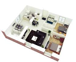 Houses With 2 Master Bedrooms 25 More 2 Bedroom 3d Floor Plans