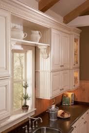 shelving in kitchen with bead board kitchen pinterest