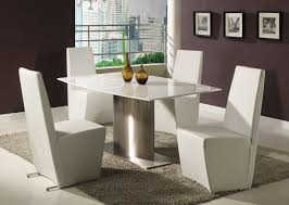 Contemporary Dining Room Sets Contemporary Formal Dining Room Drum Black Stainless Steel Floor