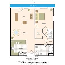 2 Bedroom 1 Bath Floor Plans Floor Plans The Ventana Offers Resort Style Amenities Five Star