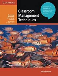 Classroom Management Techniques  Cambridge Handbooks for Language Teachers