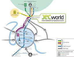 Charles De Gaulle Airport Map Jec World 2017 Access To Villepinte Jec Group