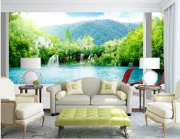 classic home decor 3d stereo expanded space outside wall