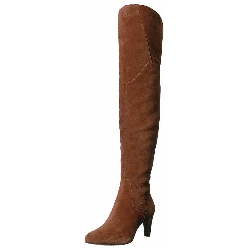 Vince Camuto Armaceli Leather Almond Toe, Chocolate Truffle,