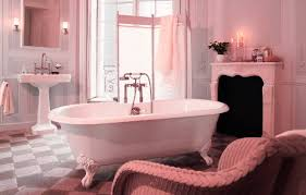 Vintage Bathroom Tile Ideas Vintage Pink Bathroom Tile Ideas And Pictures