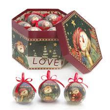 amazon com winter snowman tree ornaments green u0026 red home u0026 kitchen