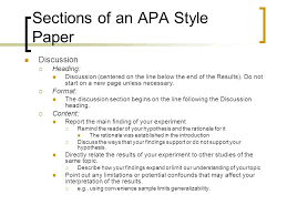 Presentation  quot Writing an APA Style Research Paper Chapter