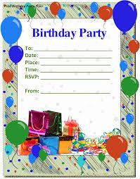 Create Birthday Invitation Card Online Birthday Party Invitation Template U2013 Gangcraft Net