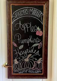 the tuscan home chalkboards in the kitchen some fall inspiration