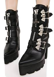 high heel motorcycle boots current mood hellbat platform boots dolls kill
