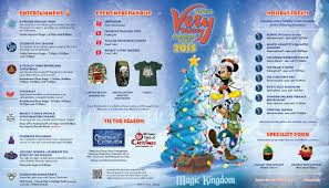 Printable Map Of Disney World Photos Mickey U0027s Very Merry Christmas Party 2015 Guide Map For
