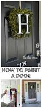 how to paint a door painting tools doors and learning