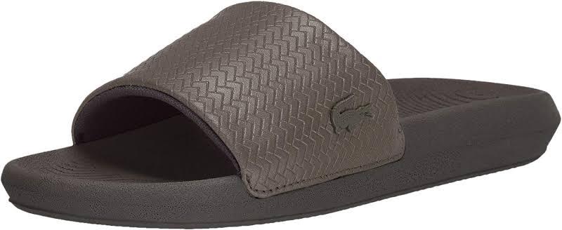 LACOSTE Croc Slide 119 4 CFA Women Dark Khaki (7)
