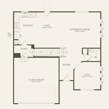 Centex Home Floor Plans by Aspire At Big Run Ridge In Grove City Ohio Centex