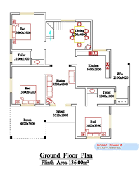 2800 Square Foot House Plans 2800 Square Feet 6 Bedroom Double Floor Sloping Roof Kerala Style