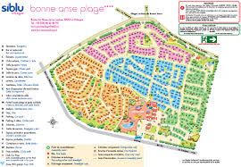 Fire Evacuation Plan In Restaurant by Bonne Anse Plage Holiday In South West France