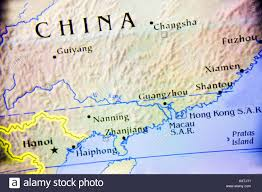 Fuzhou China Map by Close Up Map Of The Country China Located On The Asian Continent