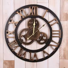 home design large wall clocks with gears fireplaces general